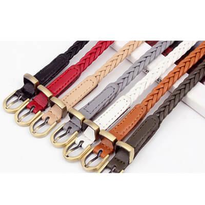 vintage braided belt